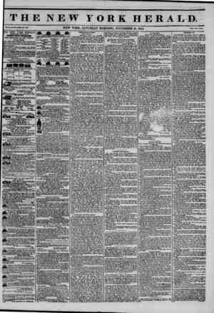 THE NEW YORK HERALD. vol. x* no. air-whot* No. simt. NEW YORK, SATURDAY MORNING, NOVEMBER 16, 1844. Prlc* Two U>U, THE NEW