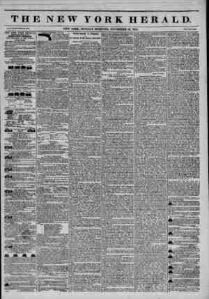 THE NEW YORK HERALD. Vol. JL, mo. 3KO.WlMl? No. 30X0. NEW YORK. MONDAY MORNING, NOVEMBER 25, 1844. t*rlc? Tw? CeaU. THE NEW