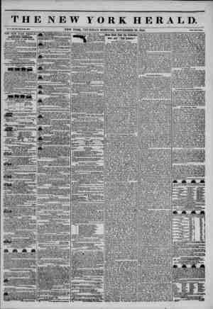 THE NEW YORK HERALD. Vol. 1., No. 3i*U-Wfcolo Ho. WAV. NEW YORK, THURSDAY MORNING, NOVEMBER 28, 1844. Price Two Cents* THE