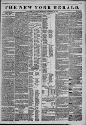 THE NEW YORK HERALD. Vol. i.. No. 331?Whole Mo. 3831 ? NEW YORK, SATURDAY MORNING, NOVEMBER 30, 1844. Prlca Two Cento. FAMILY