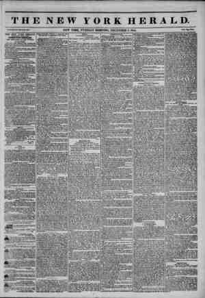 THE NEW YORK HERALD. a?. NEW YORK, TUESDAY MORNING, DECEMBER 3, 1844. f-~?w. THE NEW YORK HERALD. AUOREUATK CIRCULATION...