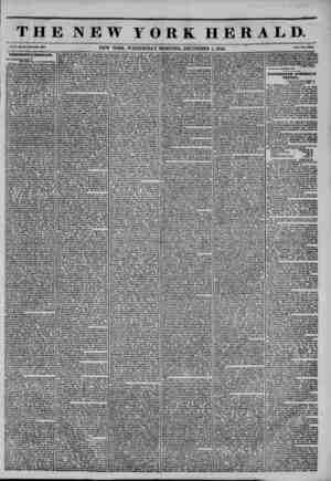 THE NEW YORK HERALD. Vol. X., Ho. 333 -Whol* Ho. 3035. NEW YORK, WEDNESDAY MORNING, DECEMBER 4, 1844. Prteo Two CenU....