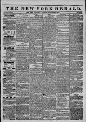T H R NEW YORK HERALD. Vol. Ho. 3GO-Wlwli Mo. 3056. NEW YORK, WEDNESDAY MORNING, DECEMBER 25, 1844. PrlM Tm Cnti, THE NEW...