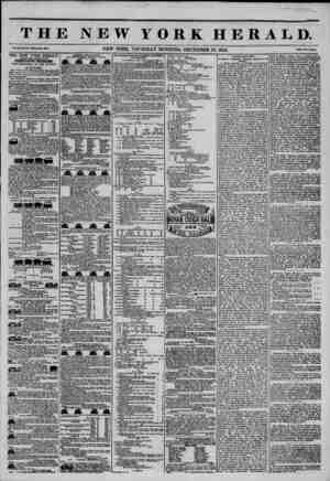 THE NEW YORK HERALD. Vol. No. 337?Whole Ma. 3057. Prlo? Two Cute, AOGREUATK CIRCULATION THIRTY-FIVE THOUSAND, TllE GREATEST