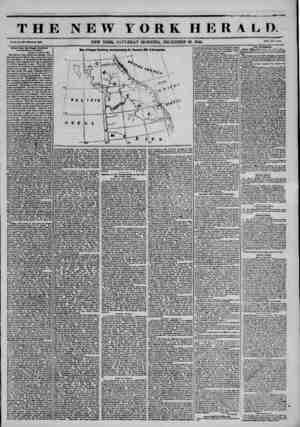 THE NEW YORK HERALD. Vol. X., No. 3AW ?Wbola Ma. W6W. NEW YORK. SATURDAY MORNING, DECEMBER 28, 1844. Prlf* Twu C?ntf. L?tt?ra
