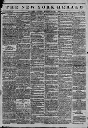 "k ""TLAv! JMfe ' j.'""'-"" THE NEW YORK HERAL I). v?.x.-~8. NEW YORK. WEDNESDAY MORNING. JANUARY 1. 1845. Piic? Two Canto...."