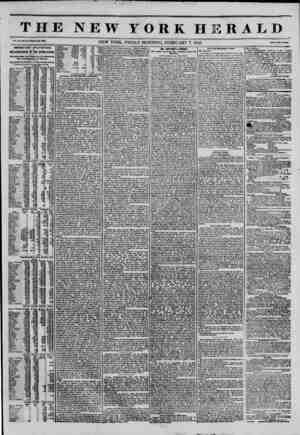 THE NEW YORK HERA ED Vol. XI., Ho. 37?Whole Ho. 3099. NEW YORK. FRIDAY MORNING, FEBRUARY 7, 1845. Price Two Cental IMPORTANT