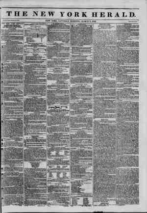 THE NEW YORK HERALD. V...XNEW YORK. SATURDAY MORNING. MARCH 8, 1845. 1 THE NEW YORK HERALD AGGREGATE CIRCULATION THIRTY-FIVE