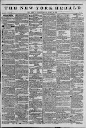 "sar?"" THE NEW YORK HERALD. V-.NEW YORK. TUESDAY MORNING, MARCH 18, 1845. p?.. ' THE NEW YORK HERALD AOORKOATE CIRCULATION..."
