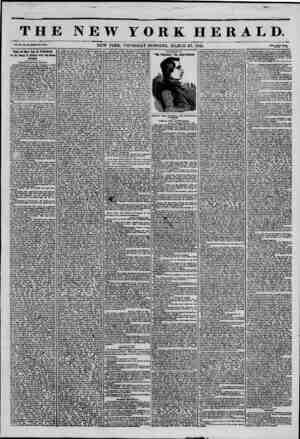 ? jr ??v'>vr?tK>.>, THE NEW YORK HERALD. Vol. XI.. Ho. W.WI10H Ho. KMT. NEW YORK. THURSDAY MORNING. MARCH 27, 1845. Prkeo Two