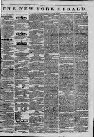 THE NEW VORK HERALD. k>. XI., Ho. 0?-WboI? Ho. MM. NEW YORK. THURSDAY MORNING. APRIL 3, 1845. PrlM Two OttM E NEW YORK HERALD