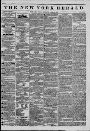 THE NEW YORK HERALD Vol. *1., No. 03?Whole No. 4055. NEW YORK. FRIDAY MORNING. APRIL 4, 1845. Prleo Two ContK THE NEW YORK