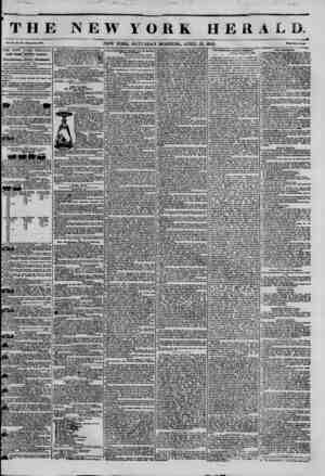 THE NEWYORK HERA n v-NEW YORK. SATURDAY MORNING, APRIL 12, 1845. THE NEW YORK HERALD. JAMES GORDON BBNNBTT, Proprietor....