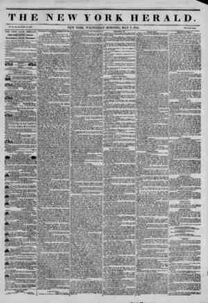 THE NEW YORK HERALD. Vol. XI., No. 123?Whole No. ftOVT. Price Two Cent*. THE NEW YORK HERALD. JAMES GORDON BENNETT,...