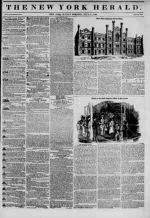 I T H E N E W YORK HERALD. 9 4 I t NEW YORK, SUNDAY MORNING, JULY 13, 1845. ph?,w.c..^ THE NEW YORK HERALD. JAMES GORDON...