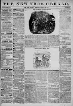 THE NEW roe Vol. ?1., Mo. IBK-Whol* No. tC80 NEW YORK, SUNDAY MORNING, K HERALD. AUGUST 10, 1845. PrlM Two Cai THE NEW YORK