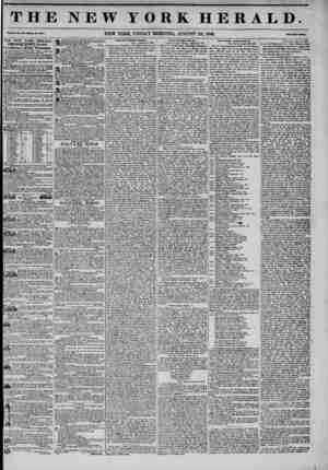 THE NEW YORK HERALD. Vol. XI., Mo. tflO- Whnlt Ho. *0?V4. NEW YORK, FRIDAY MORNING, AUGUST 22, 1845. PtImTvo Cat*. itUS JNJSW