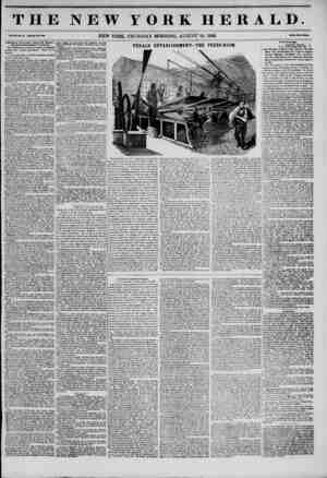 """THE NEW YORK HERALD. V' """"-""""-*' -w?o,. .-wo. new YORK, THURSDAY MORNING, AUGUST 28, 1845. ?? Additional New* from Texai and"""