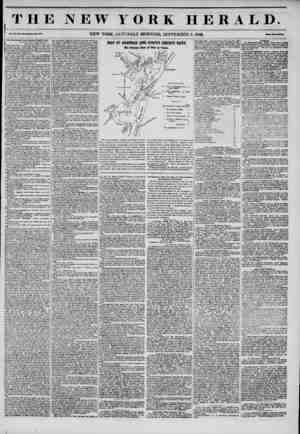 THE NEW YORK HERALD. Vol. XI., Ho. sm?Wbolo Wo. *107. NEW YORK, SATURDAY MORNING, SEPTEMBER 6, 1845. Mm Two Coaea* [I The...