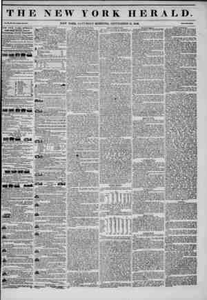 THE NEW YORK HERALD. Vol. JUL, Mo. ii?!i.Whoto Ho. ?U4. NEW YORK, SATURDAY MORNING, SEPTEMBER 13, 1848. Mm Two Cones* the NEW