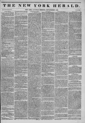 THE NEW YORK HERALD. NEW YORK, SATURDAY MORNING, SEPTEMBERS, 1845. Aiitl-llent Trials, die. Dkliii, Sept. 21, 1846. Delaware
