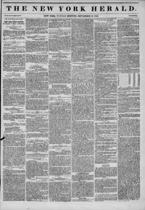 THE NEW YORK HERALD. Yol. XI., Ho. U50?WlMlc No. 41.11. NEW YORK, TUESDAY MORNING, SEPTEMBER 30, 1845. rrlM fw? Cwta. THE...