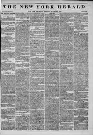 THE NEW YORK HERALD. Vol. XI., No. 251?Whole No. 4133. NEW YORK, THURSDAY MORNING, OCTOBER 2, 1845. Prlee Two Cent*. |THE...