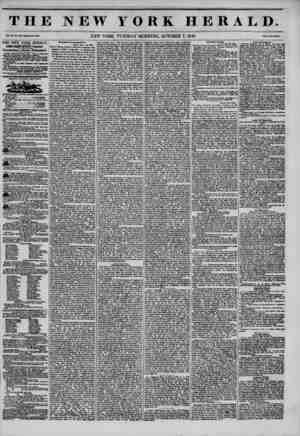 THE NEW YORK HERALD Vol. XI., No. 356-Whole No. 4138. NEW YORK, TUESDAY MORNING, OCTOBER 7, 1845. Prtee Two Cent*. THE NEW