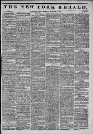 THE NEW YORK HERALD. Vol. XI., No. '459?Whole No. *1*1. NEW YORK, FRIDAY MORNING, OCTOBER 10, 1845. Hrtce Two Coats. American