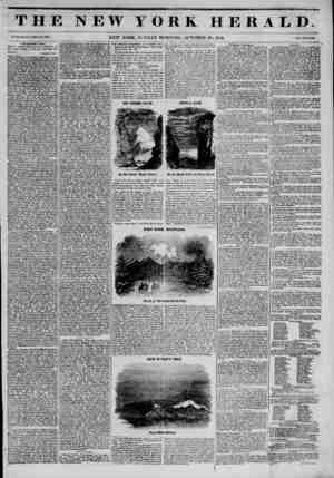 flU.. .. . in iii THE NEW YORK HERALD. Vol. XI., No. *475 Whole No. 4157. NEW YORK, SUNDAY MORNING, OCTOBER 26, 1845. frlc<