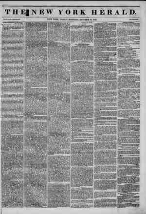 THE! NEW YORK HERALD. Vol. XI., No. ?80 -Whole No. 4134. NEW YORK, FRIDAY MORNING, OCTOBER 31, 1845. Prleo Two Coot*. Koralgu