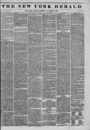 THE NEW YORK HERALD. Vol.xi#fNo.sin ?wholewo.4103. NEW YORK, TUESDAY MORNING, NOVEMBER 11, 1S45. pne.Twoc.nu. Important from