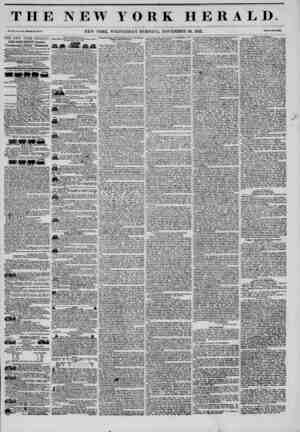 THE NEW YORK HERALD. Vol. XI., Nti.J!0-Whol? No. 4178. NEW YORK, WEDNESDAY MORNING, NOVEMBER 26, 1845. Prle* Two C?nts. THE