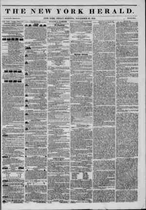 THE NEW YORK HERALD. Vol. XI., No. 34H-Wholl No. 41 SO. NEW YORK, FRIDAY MORNING, NOVEMBER 28, 1845. . ?two? THE NEW YORK...