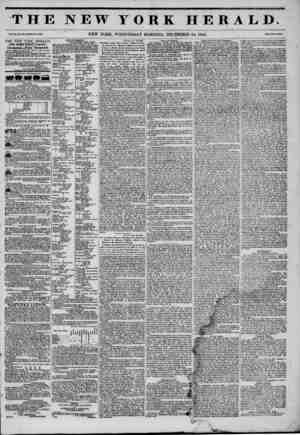 mmmmmmtKKmKmammtm THE NEW YORK HERALD. vo.. xi.,No. jm?whoi? No. *'4oo. NEW YORK, WEDNESDAY MORNING, DECEMBER 24, 1845. THE
