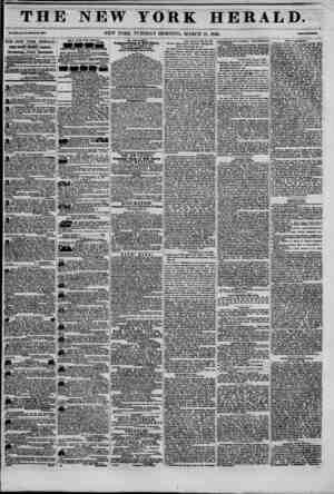 THE NEW YORK HERALD. ??Li XnH Mo. 08-WlMte lo. *881. NEW YORK, TUESDAY MORNING, MARCH 10, 1846. THE NEW YORK HERALD. JAMES