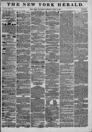 THE NEW YORK HERALD Val.HU l?01.WMaR?.?3M, NEW YORK, THURSDAY MORNING, APRIL 2, 1846. THE NEW YORK HERALD. JAMB* GORDO*...