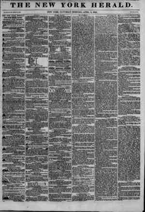 THE NEW YORK HERALD. r?uxn?mm.!oo-ww??.?3i3 NEW YORK, SATURDAY MORNING, APRIL 11, 1846. THE NEW YORK HERALD. JAMES MRSOll...