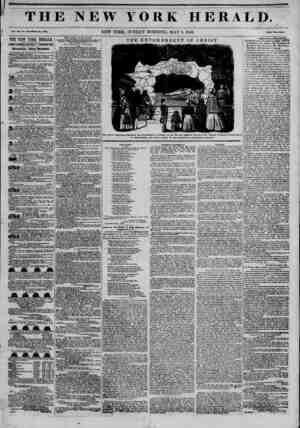THE NEW YORK HERALD. >/ Vol. XII, No. 14*?Whole No. 4339. NEW YORK, SUNDAY MORNING, MAY 3, 1846. Price Two Cents. THE NEW...