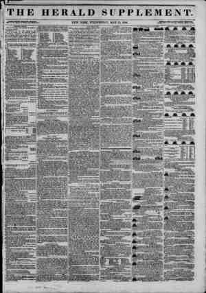 '1*. THE HERALD SUPPLEMENT. oltttfgSSI NEW YORK, WEDNESDAY, MAY 13, 1846. {JS^S^ZSZtfSSi.lgSSrXZ* Common Council. Boabd or