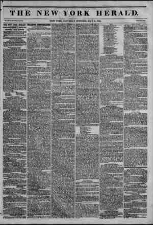 THE NEW YORK HERALD. e*i ? < VA SIX, Bo. lat-Wkoto I*. MM. NEW YORK, SATURDAY MORNING, MAY 16, 1846. JPrtc* Two OmM. ?THE NEW