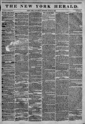 THE NEW YORK HERALD. NEW YORK, SATURDAY MORNING, MAY 23,1846. Mm Twt Omii. THE NEW YORK HERALD. JAMES 60R00N BENNETT,...