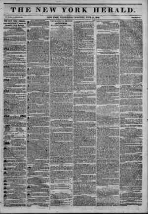 """P1""""1 L M.I . ill'? ? ui ?? THE NEW YORK HERALD. V.w. ZD, la. 1C7?WMi Mo. ?30O NEW YORK, WEDNESDAY MORNING, JUNE 17, 1846. Mm"""