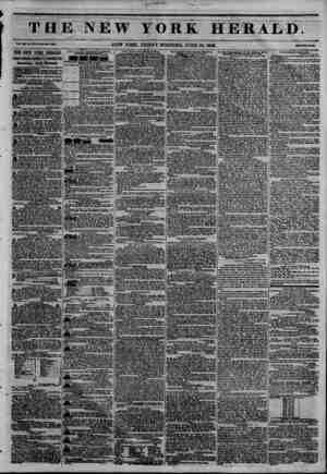 THE NEW YORK HERALD. ??i. Jtn* la. lre-wMa ??. ?m NEW YORK, FRIDAY MORNING, JUNE 26,1846. THE NEW YORK HERALD. JAMES aOMON