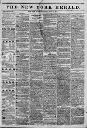 t e i Vol. XI1, No. XOS?Whala No. ##31. THE NEW~YORK HERALD. JAMES GORDON BENNETT, PROPRIETOR. 1 Circulation---Forty...