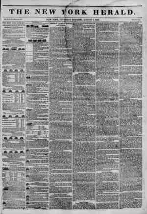 TH1 Val. XII, No. SilO.WhnU Mo. *447. THE NEWARK HEMLD. JAMES GORDON BENNETT, PROPRIETOR. Circulation?Forty Thousand. DMLY