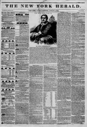 THJ Vol. xii, no. ais.wiui* No. ?4so. THE NEW YORK IIERALDT JAMES BORBON BENNETT, PROPRIETOR. Circulation---Forty Thousand.