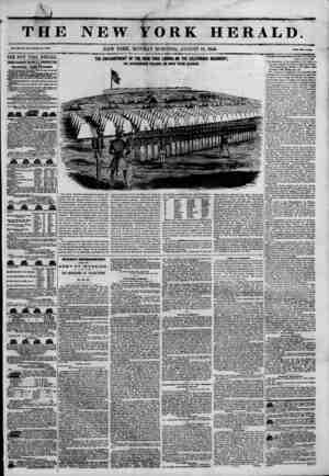 V \ THJ Vol. JED. No. au.Wlial* No. *451. THE NEW YORK HERALD. JAMES GORDON BENNETT, PROPRIETOR.; Olrcnlatlon---Forty...