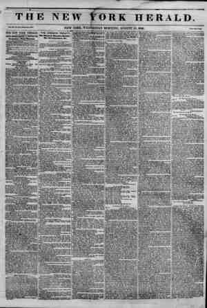 V T HI Vol. XII, |?, aia.WM* Mo. *453. THE NEW YORK HERALD. JAMES GORDON BENNETT, PROPRIETOR. Gircal&tion---Forty Thousand.