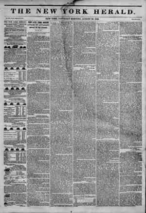 TH] Vol. JKH, lo. axi-wtoto M70, thiTnew york heraldT JAMES GORDON 8ENNETT PROPRIETOR. Circulation---Forty Thousand. DAILY